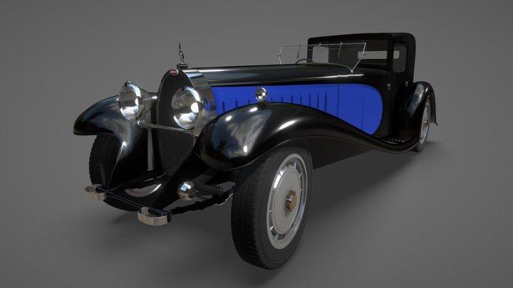Bugatti Royale Coupé Napoléon 3D Model