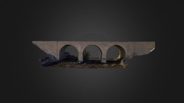Puente Barranco de las Ovejas 3D Model