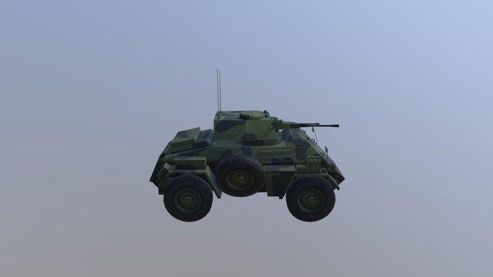 Humber Mk III 3D Model