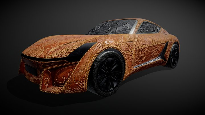"X-TAON: ""Armored"" Car 3D Model"