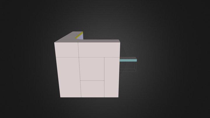 dressing room1 3D Model