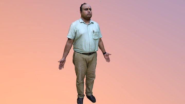 Harsha Full body Gamepose - Medium Poly 3D Model