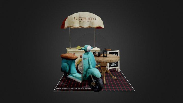 City Scene 5 Props 3D Model