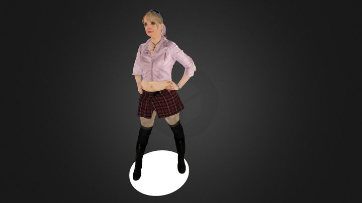 Alena Rock Syndrom 3D Model