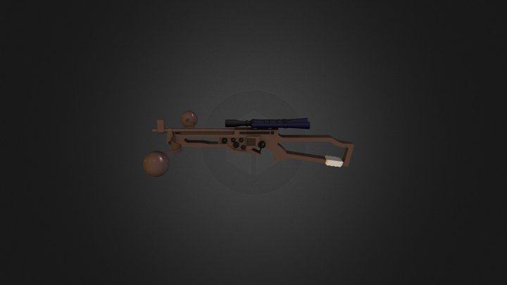 Chewy's crossbow 3D Model