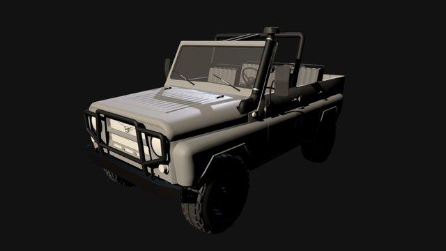 уаз 469 3D Model