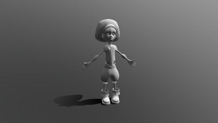 TERRI WIP 3D Model