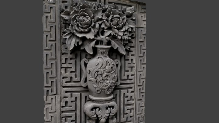 Traditional Pattern 03 3D Model