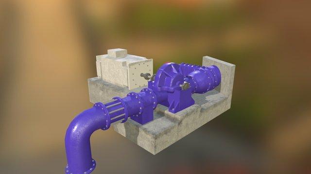 Wp 3D Model