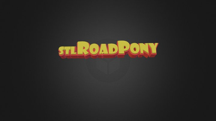 Stl Roadpony Logo 3D Model