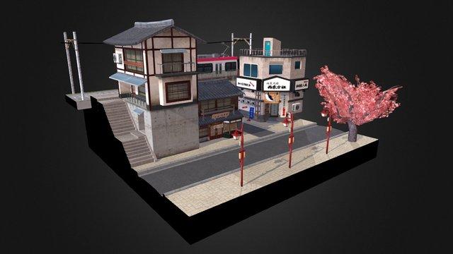 City Scene (Tokyo) 3D Model