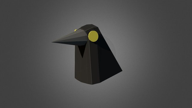 Krähe-s 02 3D Model