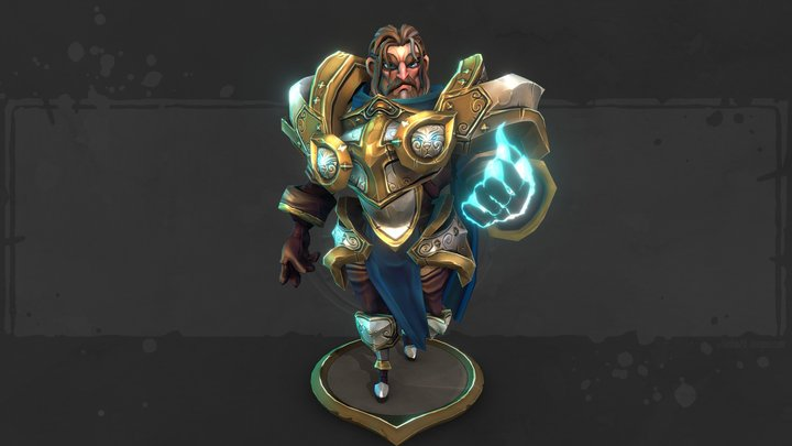 The Paladin 3D Model