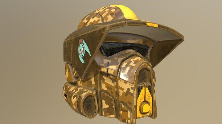 Waxer helmet clone wars ARF trooper 3D Model
