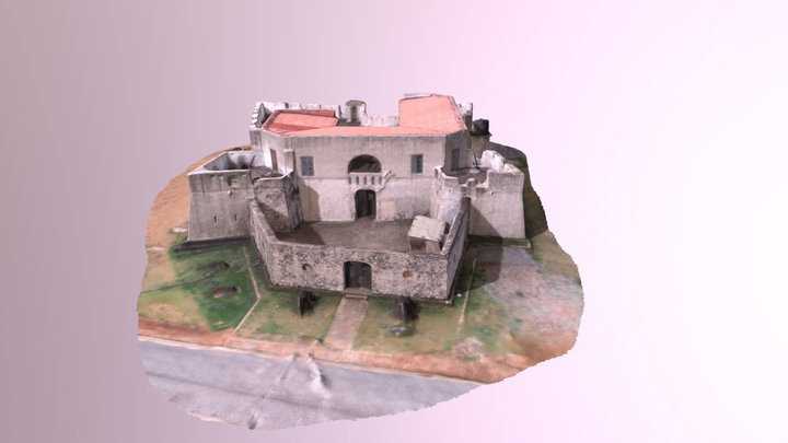 Fort Apollonia, Beyin, Ghana 3D Model