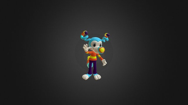 Corky Dog 3D Model