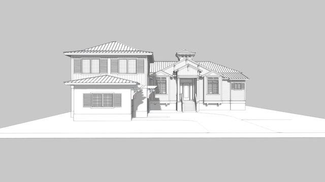 Boca Grande Custom Residence 3D Model