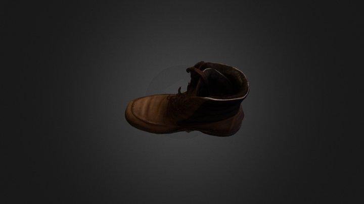 kandahar shoe 3D Model
