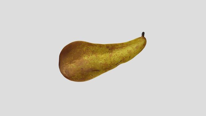 Scanned pear 3D Model