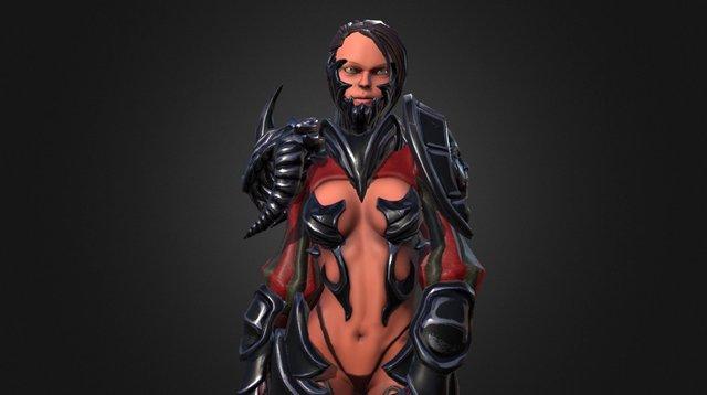 Ashrah 3D Model