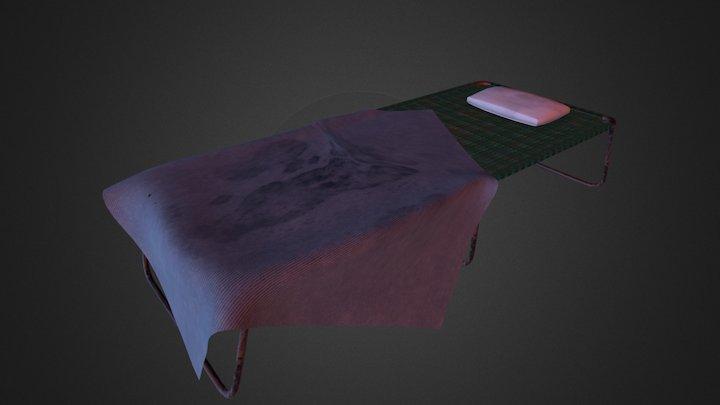 Bed Cot 3D Model