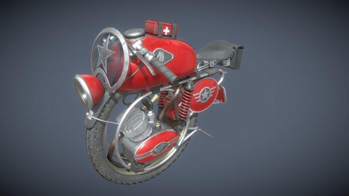 #MonoBikeChallenge Pegasus 3D Model