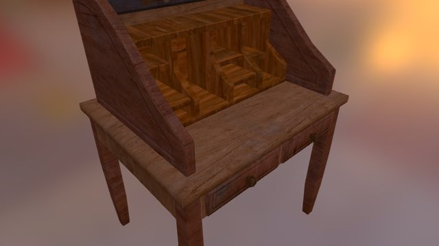 Desk01.unity 3D Model