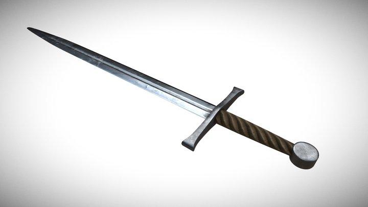 14th Century Italian Sword 3D Model