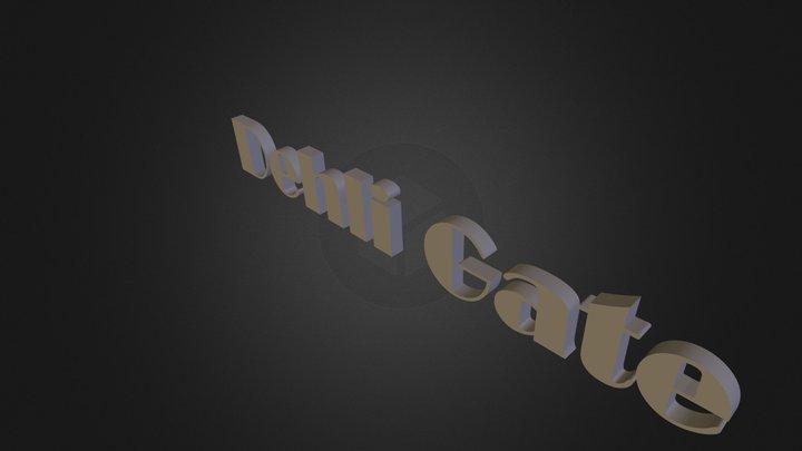 Walled City 3D Model