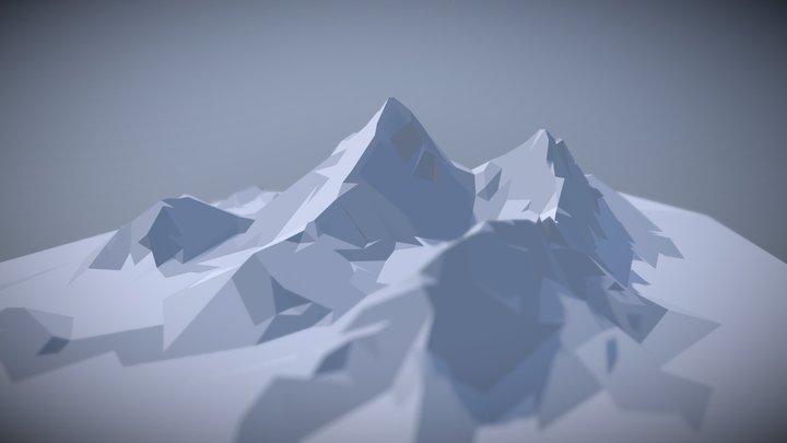 Everest - Lowpoly 3D Model
