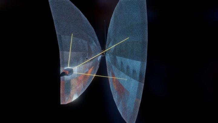 Solar Sailer from Tron 3D Model