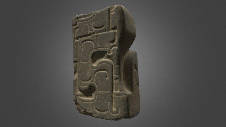 Totonac Sculpture 3D Model