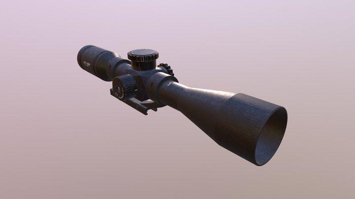 Scope Hunting Rifle 233 3D Model