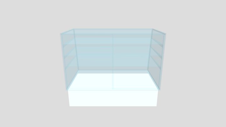 Bakery Display Case 3D Model