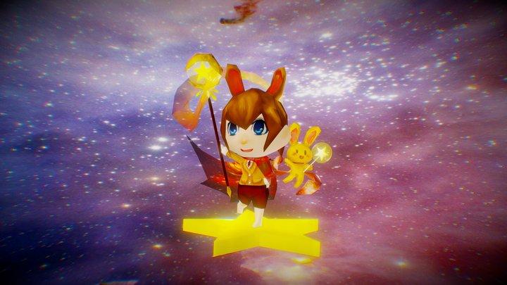 Star Magician2 0 3D Model
