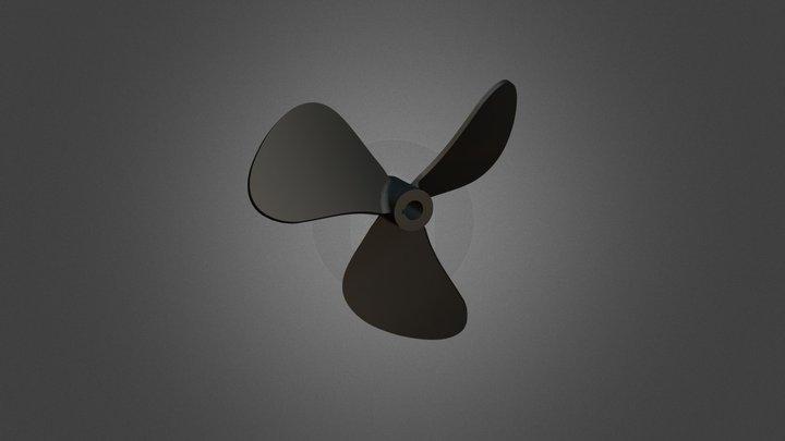 Propeller of boat 3D Model