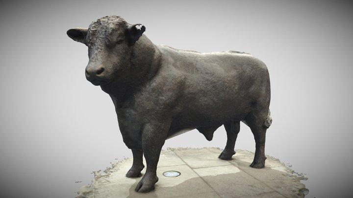 Hereford Hightown Bull 3D Model