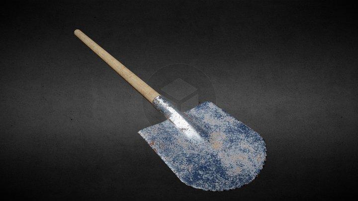 Old Shovel 3D Model