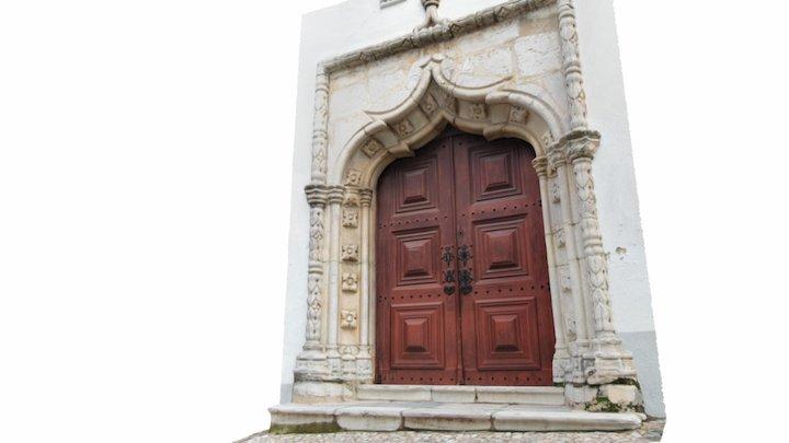Portal Manuelino da Igreja da Misericórdia 3D Model