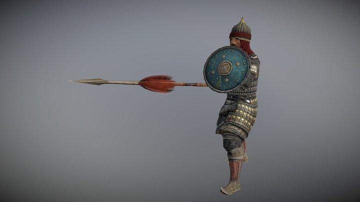 Hafsid general's bodyguard (Machiavello Mod) 3D Model