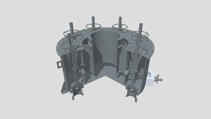 Slurry Splitter ● Пульподелитель 3D Model
