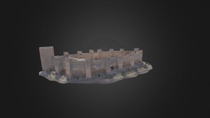 Castillo de Baños de la Encina 3D Model