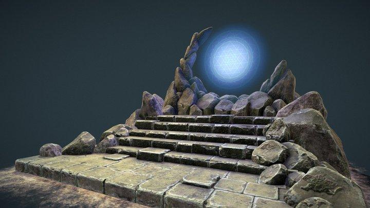 Magic Portal 3D Model