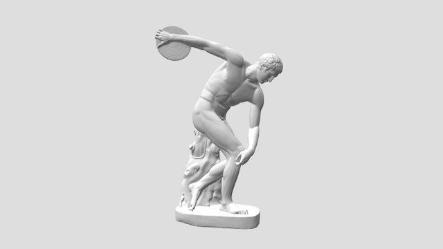 Discobolus (The Discus Thrower) 3D Model