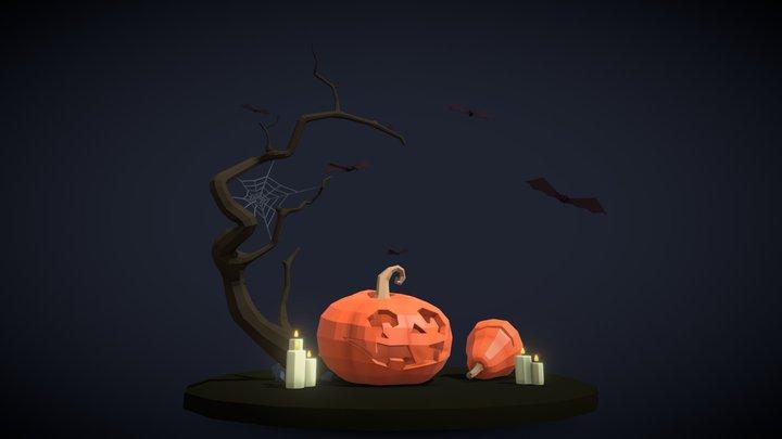 The spirit of the Halloween 3D Model
