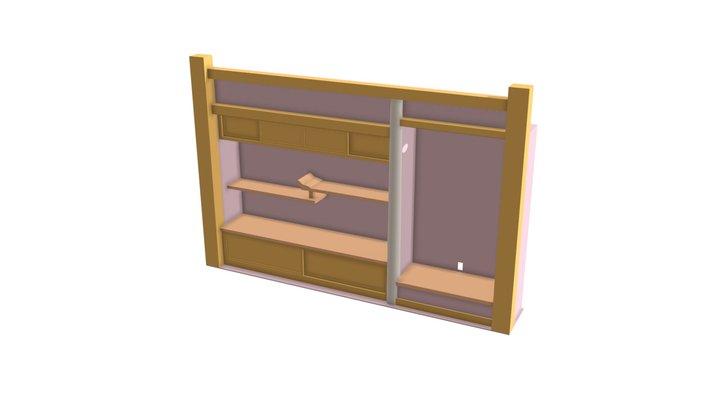 Tokonoma 3D Model