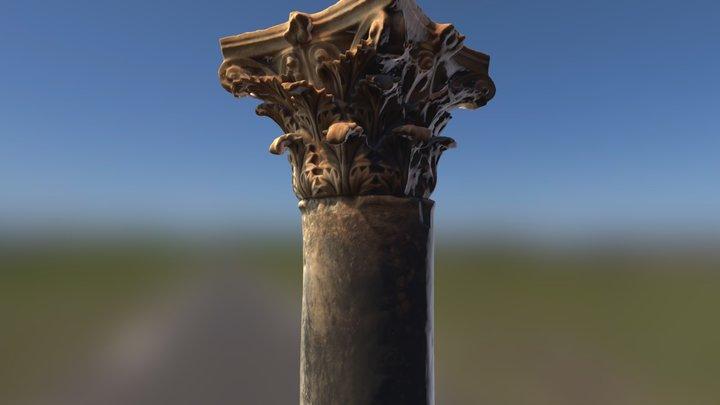 Ancient Greek Column 3D Model