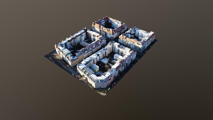 Damenviertel Jena 3D Model