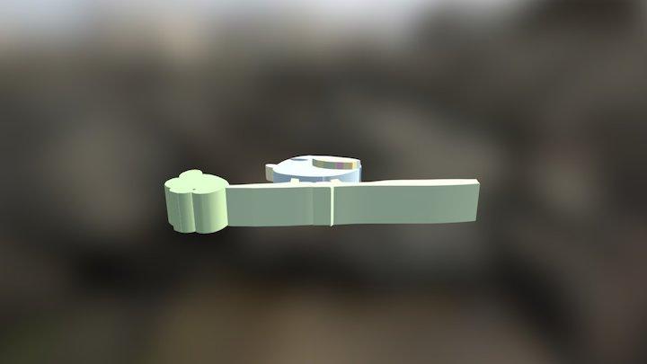 Oiseau par Alix 3D Model