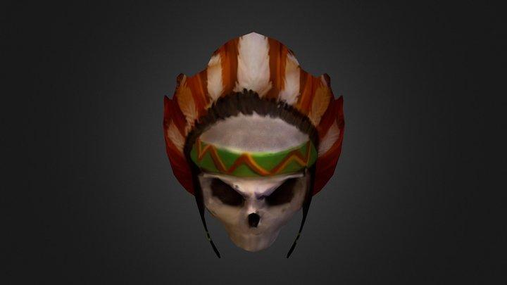 Necro Skull 3D Model